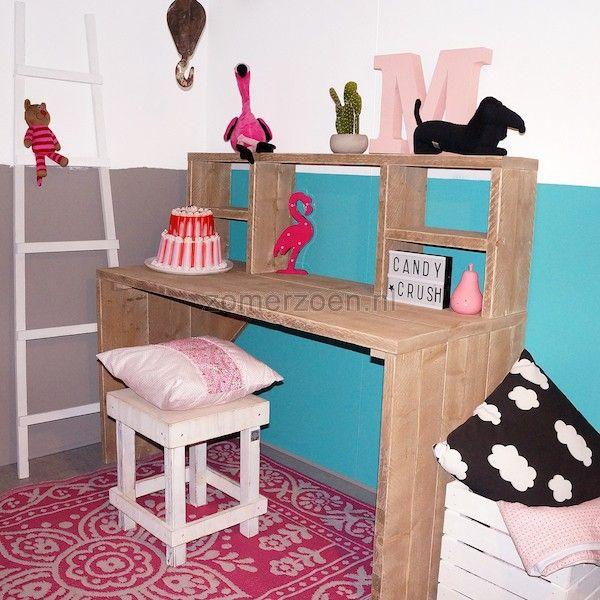 1000 idee n over meisjes bureau op pinterest tiener hoogslapers girls bedroom en meisjeskamers - Tiener meubilair ruimte meisje ...