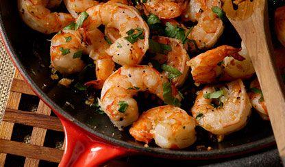 Gorgeous Garlic Shrimp | Dashrecipes.com