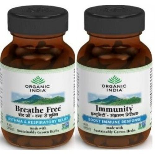 Organic India Asthma Care Organic Pack Buy Online at Best Price in India: BigChemist.com