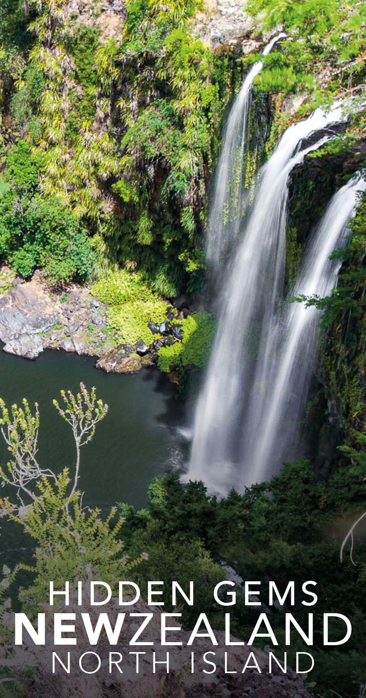 Waterfalls, beaches down dirt tracks, Japanese style gardens, and the movie stand in for Mount Fuji, don't miss these New Zealand North Island hidden gems.