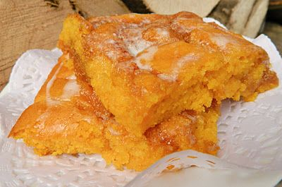House 344: Where We Learned to Live, Love, and Cook: Pumpkin Vanilla Sheet Cake