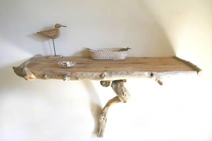 Le bois flotté en décoration... Un must !