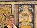 Life Imitates Art - Alcazar Real Seville Spain 2009