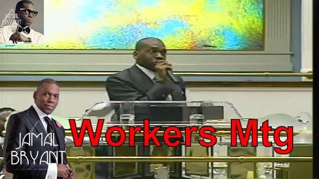 Pastor Jamal Bryant Minitries Sermons 2016 - Dr Jamal Bryant at North Central Ga Workers Mtg