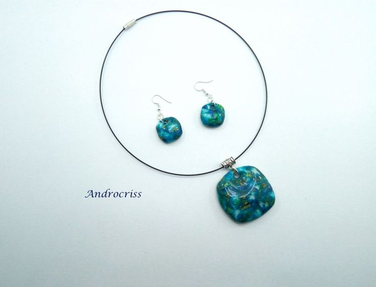 Blue-green stones