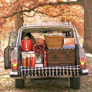 #autumn #picnic #preppy. Cute stuff: Camping Tips, Borderlinegenius, Camping Hacks, Camping Idea, 41 Camping, Borderline Genius, Roads Trips, Tips And Tricks, Fall Picnics
