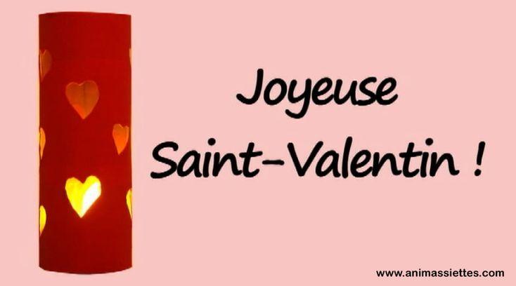 Un joli luminaire facile faire pour la saint valentin c - Bricolage st valentin facile ...