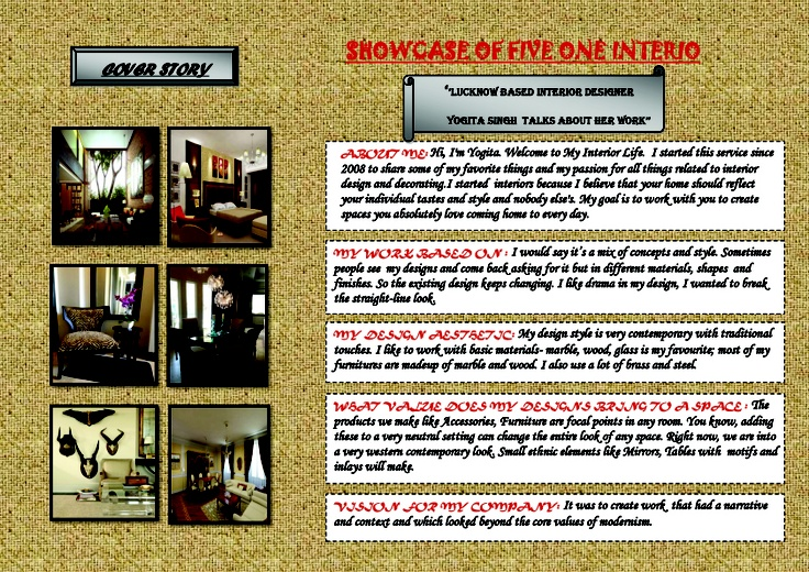 SHOWCASE OF FIVE ONE INTERIO1 copy