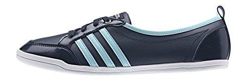 adidas Damen Piona W Turnschuhe, Negro / Azul / Plateado (Maruni / Azuent / Plamat), 42 2/3 EU - http://on-line-kaufen.de/adidas/43-eu-adidas-piona-w-damen-laufschuhe