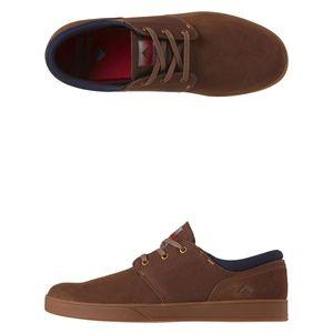 NEW Emerica Shoes Skate Figueroa Shoe Lace Brown Men Skate Shoes