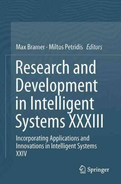 Research and Development in Intelligent Systems: Incorporating Applications and Innovations in Intelligent Systems