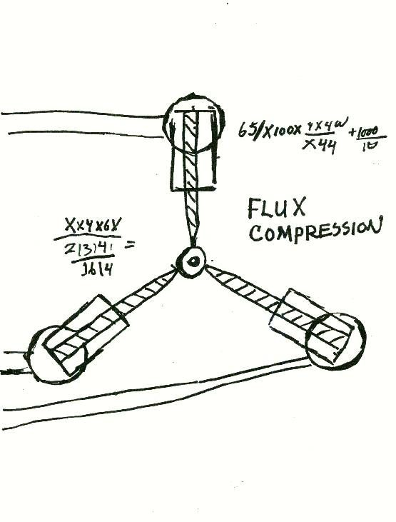 paper schematic of the flux capacitor