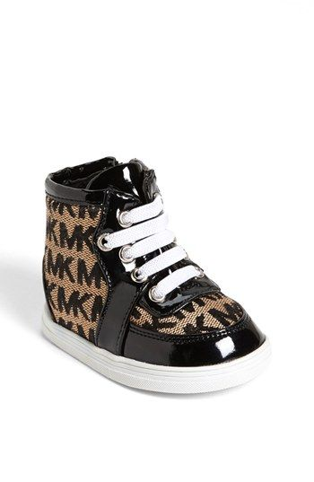 MICHAEL Michael Kors 'Ivy' Crib Shoe (Baby) available at #Nordstrom