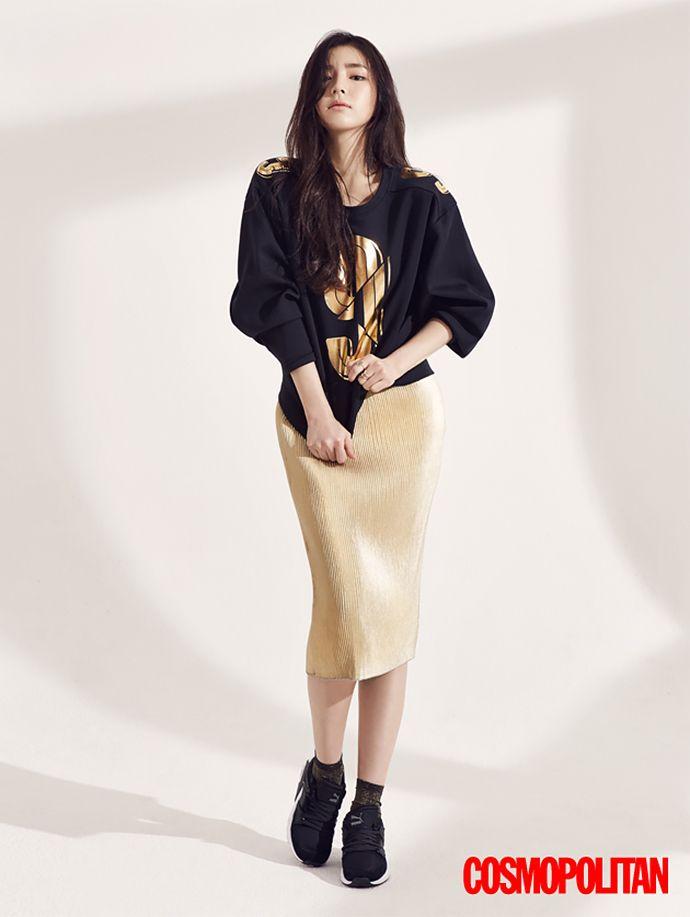 Shin Se Kyung Shows Off Her Love for PUMA in Cosmopolitan Korea   Couch Kimchi