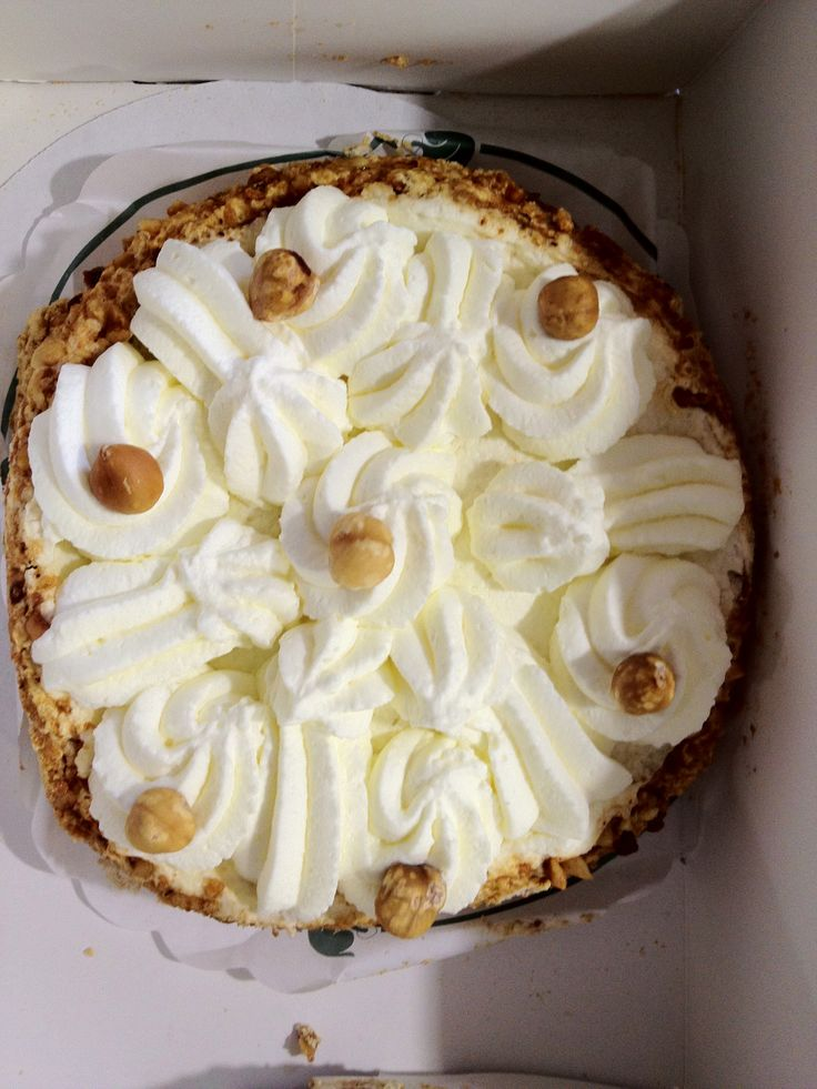"A hazelnut pie from famous baker Brokking in Dordrecht, the Netherlands, simply called ""a Brokking""...."