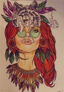 Hippie Nature Art - Bing Images
