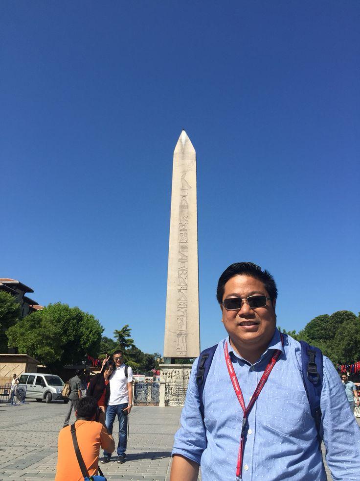 Obelisx Hipodrome Istanbul Turkey 2015