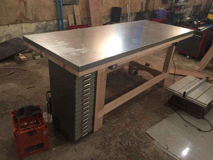 11 best DIY Garage Workbench images – Easy Garage Workbench Plans