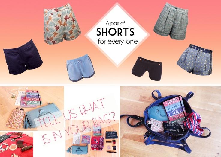 Shorts!!! Spring is here egt a nice pair of shorts with Petit Bateau, Sessùn and Paul and Joe Sister! Franska kläder online - Alltid fri frakt och fria returer hos oss http://www.parisiangarderobe.se/shop/