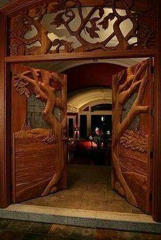 Doors into Hacienda of Hope