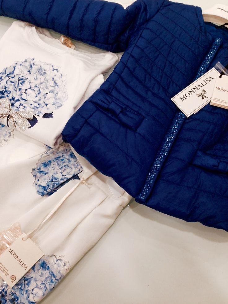 Monnalisa   Spring-Summer Collection   Girl #Monnalisa #spring #summer #kids' #fashion #girl #blue #elegant #ceremonial #white #tshirt #shoes #dress #skirt #jacket #flower #carryonjunior