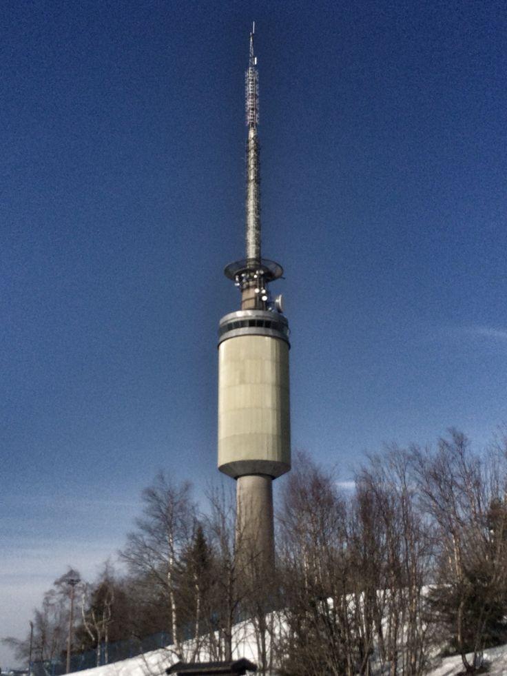 Tryvanns tårnet i Oslo ! Picture by @villatverrteigen