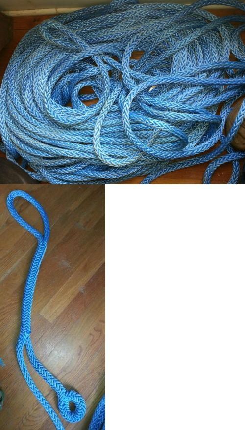 Ropes Cords and Slings 50816: 50 Of 5 8 Dyneema Sk-75 12 Strand Amsteel-Blue Genuine Samson Rope -> BUY IT NOW ONLY: $125 on eBay!