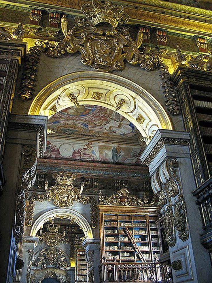 Biblioteca joanina Coimbra Portugal