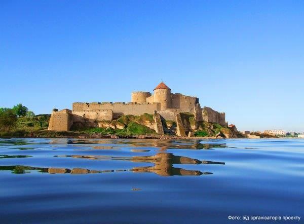 Akkerman Fortress built up by Turks