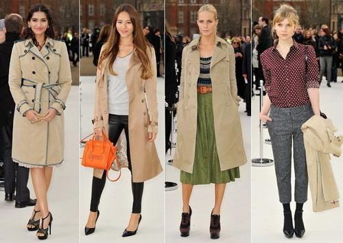 Осенняя одежда пальто