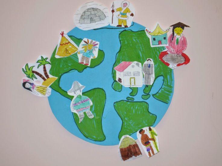 Νηπιαγωγείο με Φαντασία: 7. Ο γύρος του κόσμου έλαβε τέλος...
