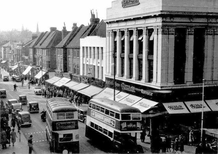 Enfield Town, Burtons built 1937
