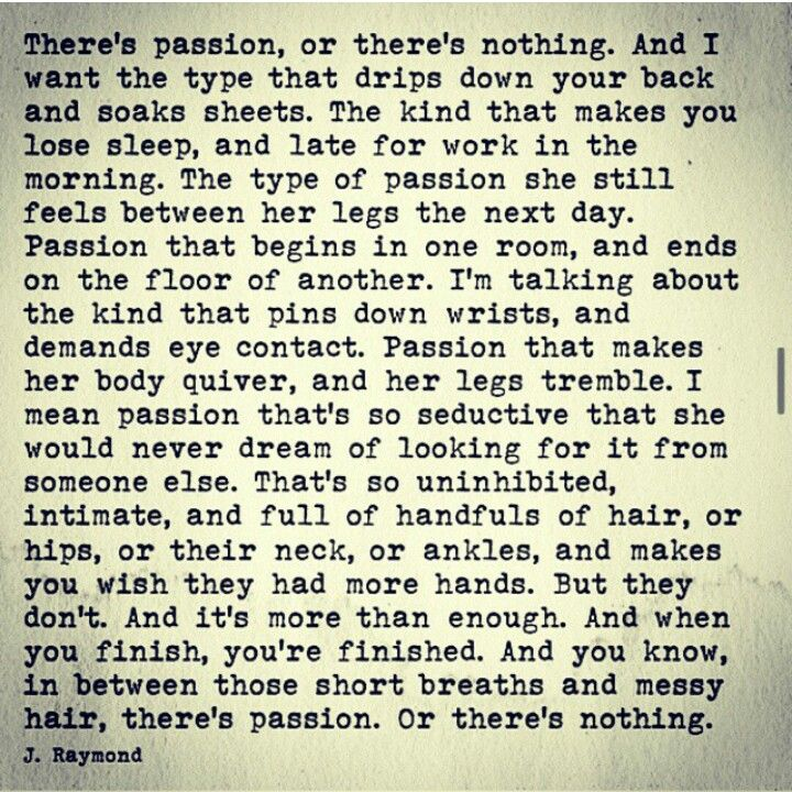....so seductive that she would never dream of looking fir it from someone else. #AMEN Find it and never let it go!!!!
