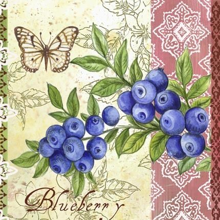 Blueberries ~ Elena Vladykina