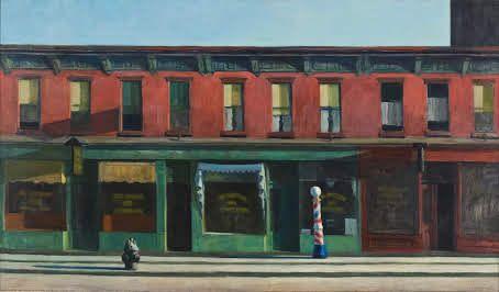 Edward Hopper - 'Early Sunday Morning' (1930) Realism
