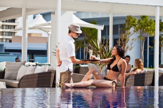 Hilton Surfers Paradise via www.hiltonsurfersparadise.com.au