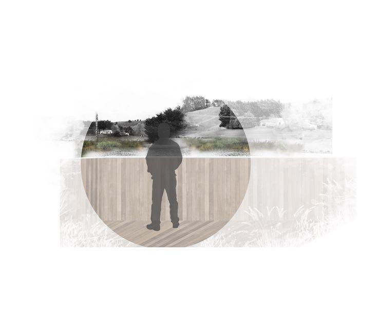 Kourarau Dam concept experience | LAND312 | Rebecca Freeman