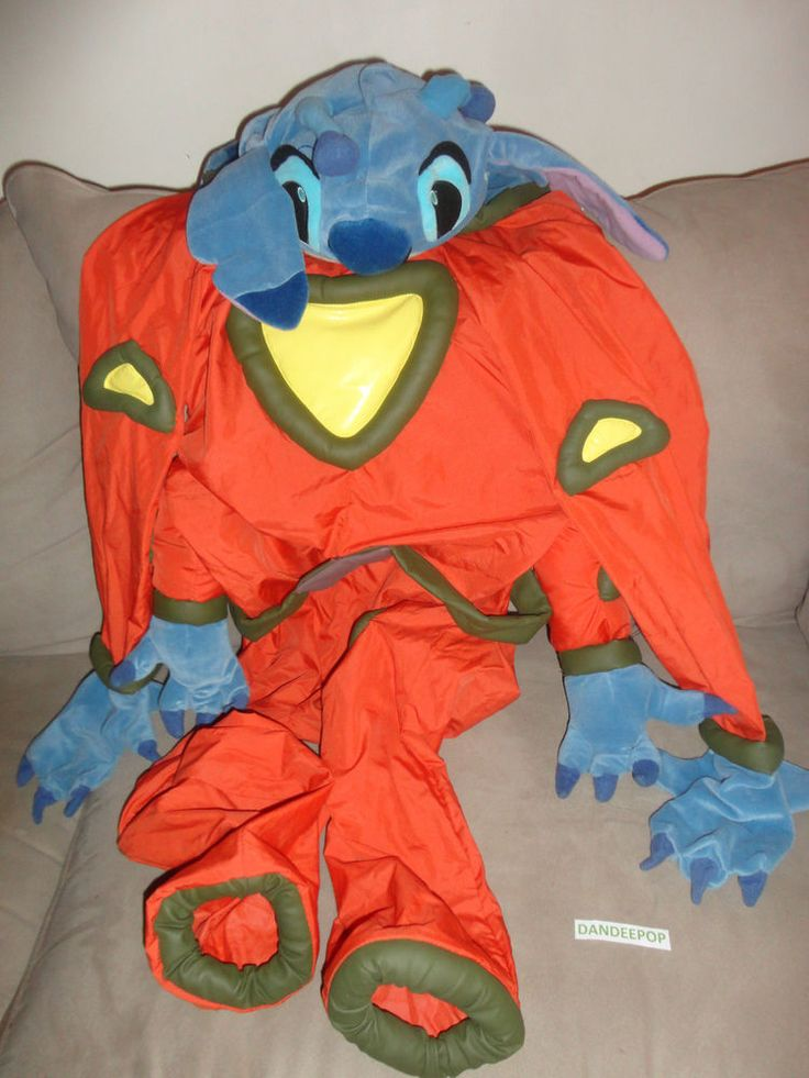 Disney Store Alien Stitch Costume Size Youth Large ...