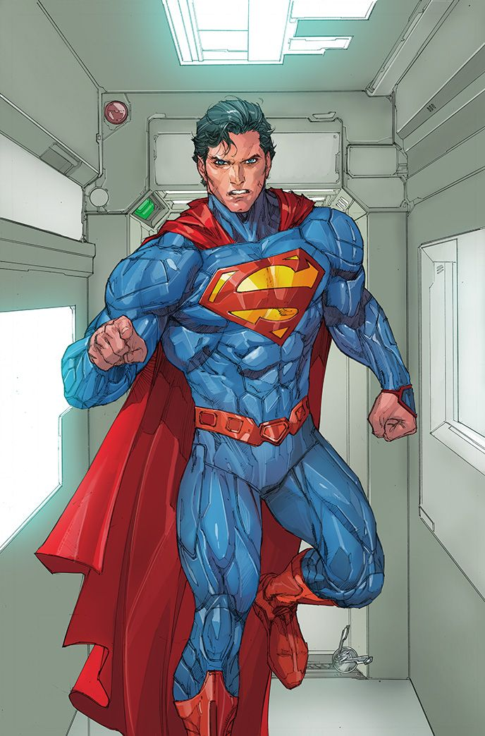 SUPERMAN 15 Cov SUPES colored by SUNNY GHO by DeevElliott.deviantart.com on @deviantART