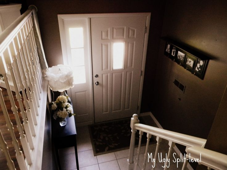 My ugly split level entryway ideas for home pinterest for Split level extension ideas