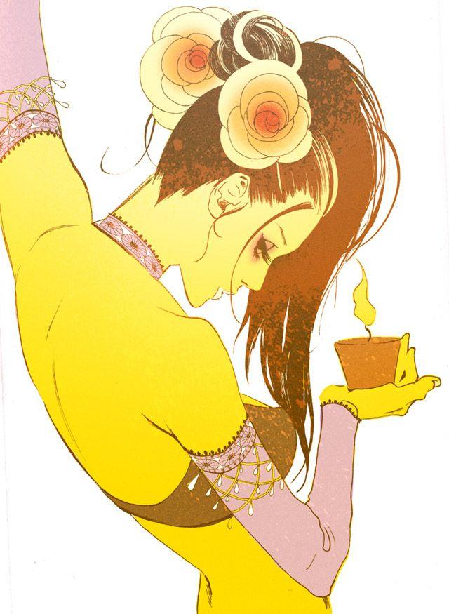 Art by manga artist Hiromi Matsuo