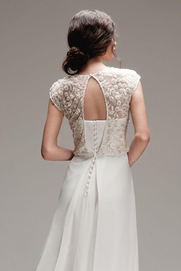 Vestido de novia de Otaduy {Coleccion Wild Love} #vestidosdenovia #weddingdress #tendenciasdebodas