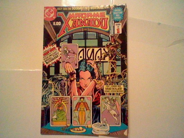 1981 DC MADAME XANADU 1 (DC mystic,Justice League Dark) occult with poster =)