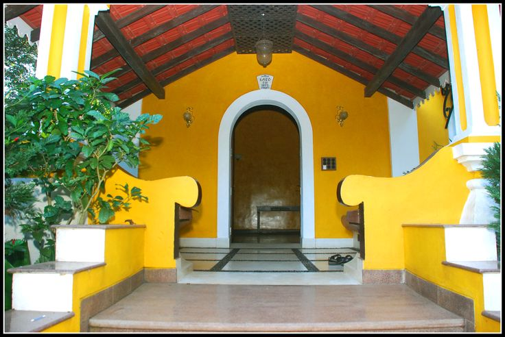CASA PAITONA, a 1826 built Antique Portuguese Home in Goa, India.  #Nagpal Builders #Holiday #Home #Goa Properties #Antique #Historical #Luxury