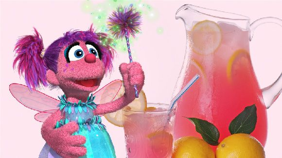 Abby Cadabby's Twinkle Think Punch.....This Refreshing Drink Will Bring a Twinkle To Your Taste Buds!