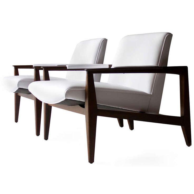 1stdibs.com | Edward Wormley Lounge Chairs for Dunbar ca.1950's