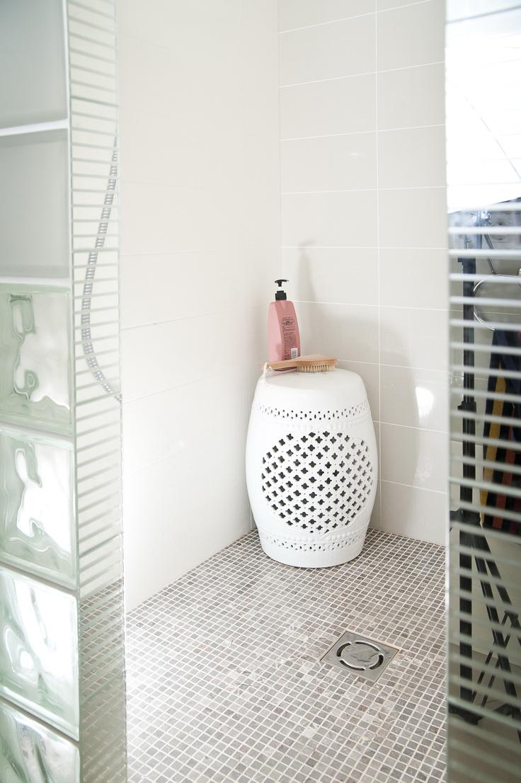 garden stool in bath room