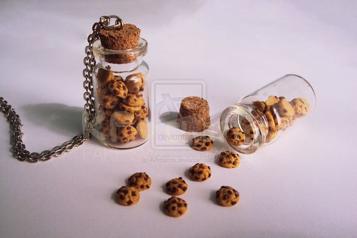 mini chocolate chip cookies by KPcharms