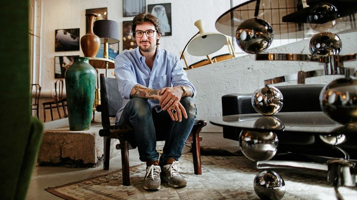 Founder of Dusty Deco store, Edin Memic Kjellvertz - DI Weekend