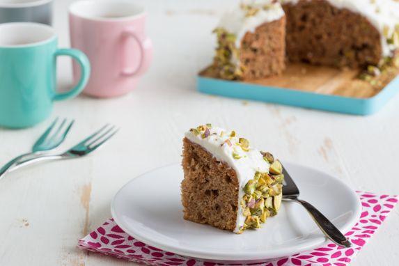 recipe-Carrot Cake met pistachenoten